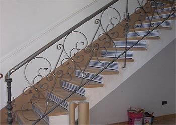Carpinteria met lica jucar barandilla - Barandillas metalicas para escaleras ...