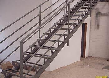 carpintera metlica jucar escalera metlica